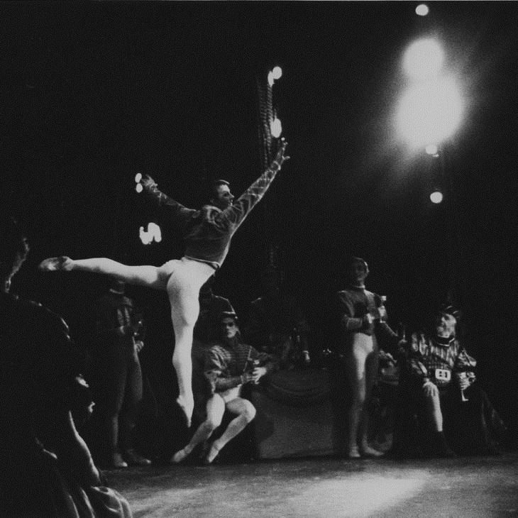 Karl Welander in Swan Lake, 1962