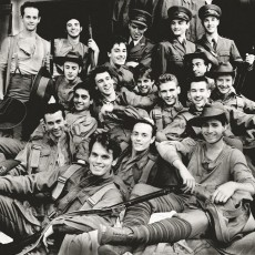 Artists of The Australian Ballet in an impromptu photograph for 1914, 1988. Photo Branco Gaica