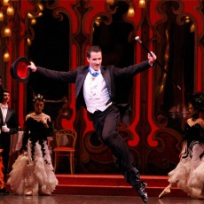 Robert Curran in The Merry Widow, 2011. Photo Jeff Busby