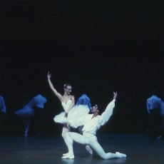 Joanne Michel and Gary Norman in Suite en Blanc