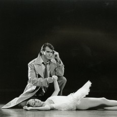 Steven Heathcote and Lisa Bolte in The Competition, 1994. Photo Jim McFarlane