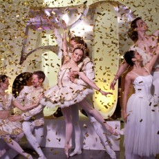 Dancers of The Australian Ballet at the 50th anniversary season launch, 2011. Photo Lynette Wills