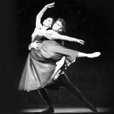 Fiona Tonkin and Steven Heathcote in Onegin, 1990. Photo Branco Gaica