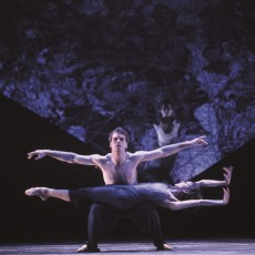 Steven Heathcote and Vicki Attard in Rites, 1999