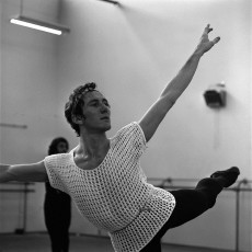 Kelvin Coe in rehearsals at The Australian Ballet Flemington studios, 1971. Photo Paul Cox