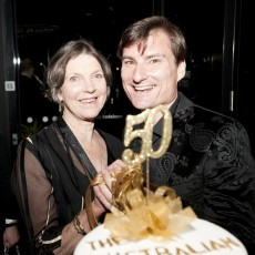 Marilyn Jones and David McAllister, 2012. Photo Teagan Glenane